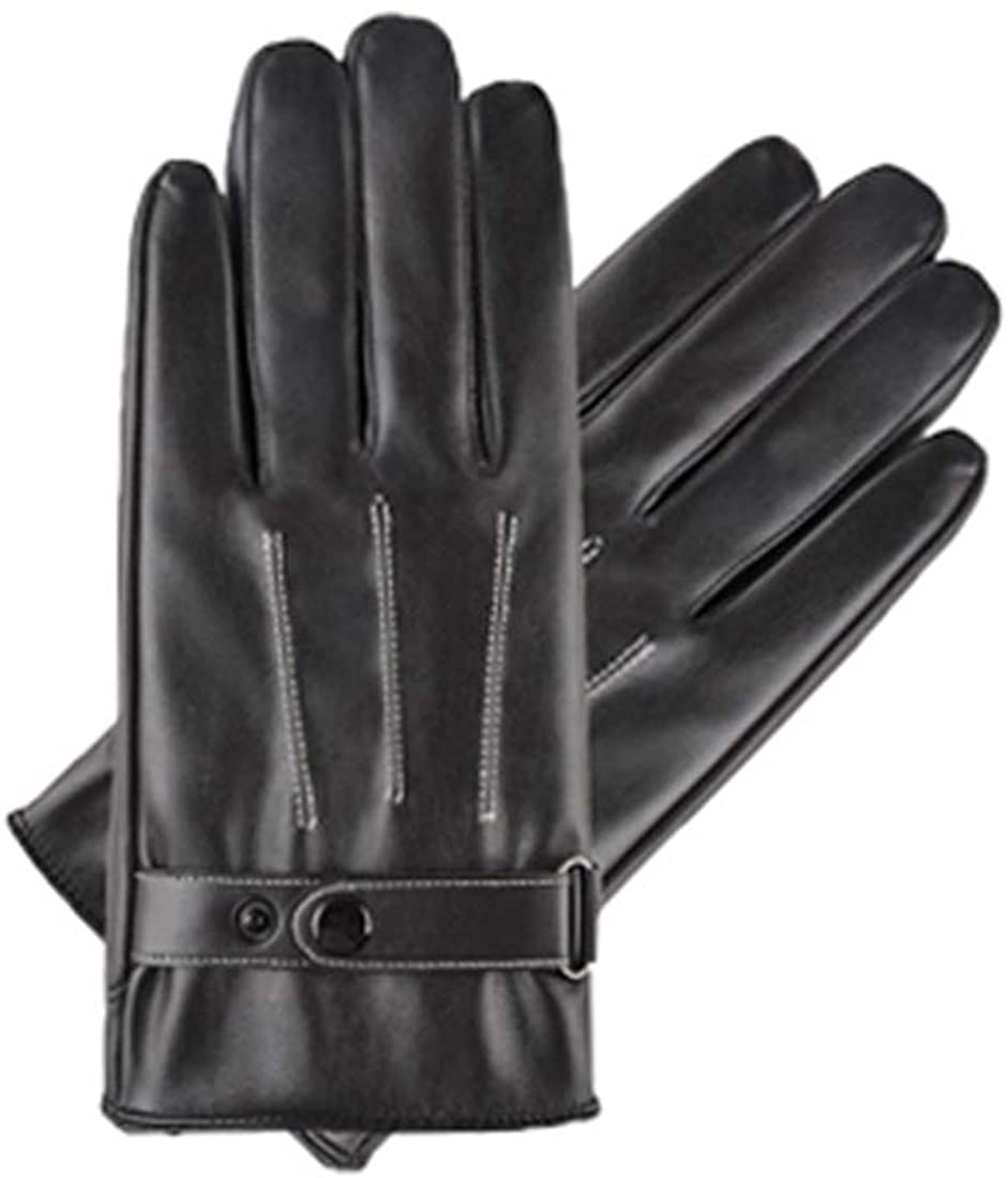 Best Touchscreen Leather Gloves for Texting Driving Winter Gift