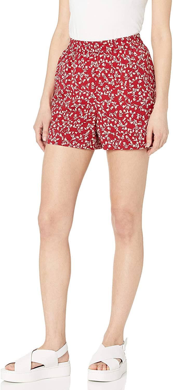 kensie Women's Meadow Floral Shorts