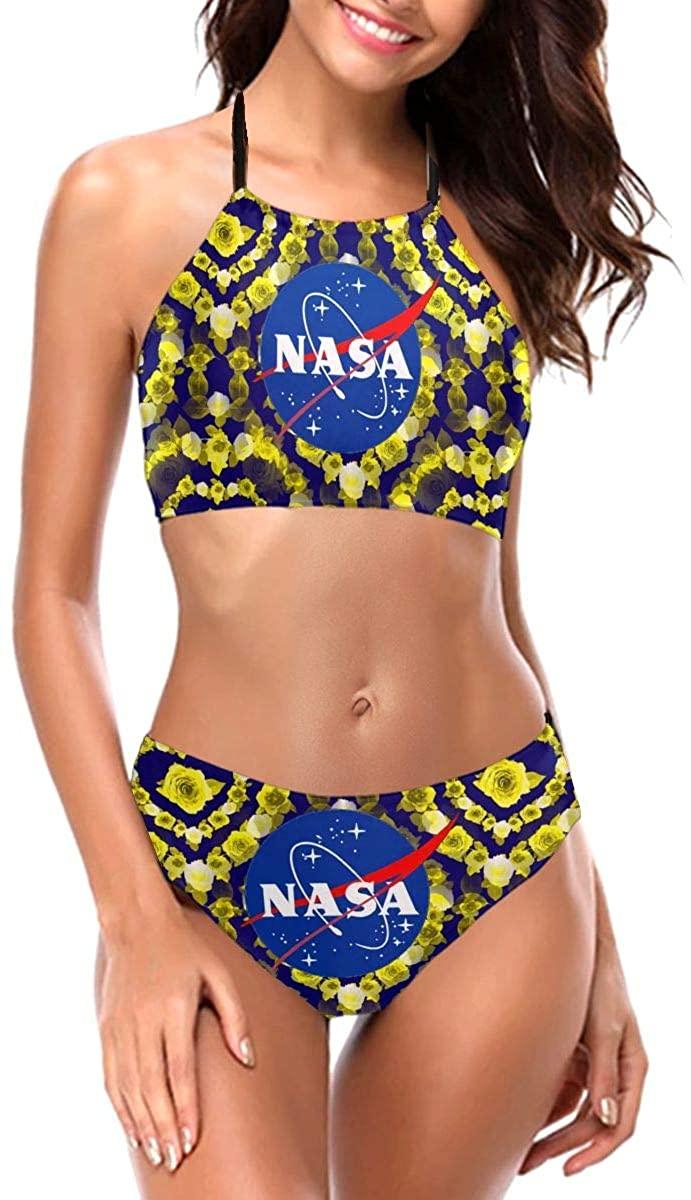 Sherrygeoffrey NASA Space Shuttle Rocket Science Women Bikini Set Bralette Swimsuit Bathing Suit