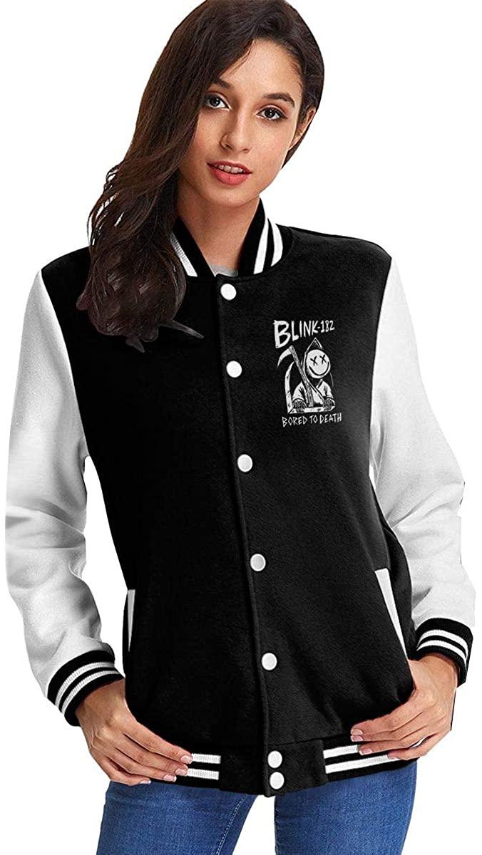 Blink-182 Comfortable Women's Casual Jacket Baseball Button Jacket