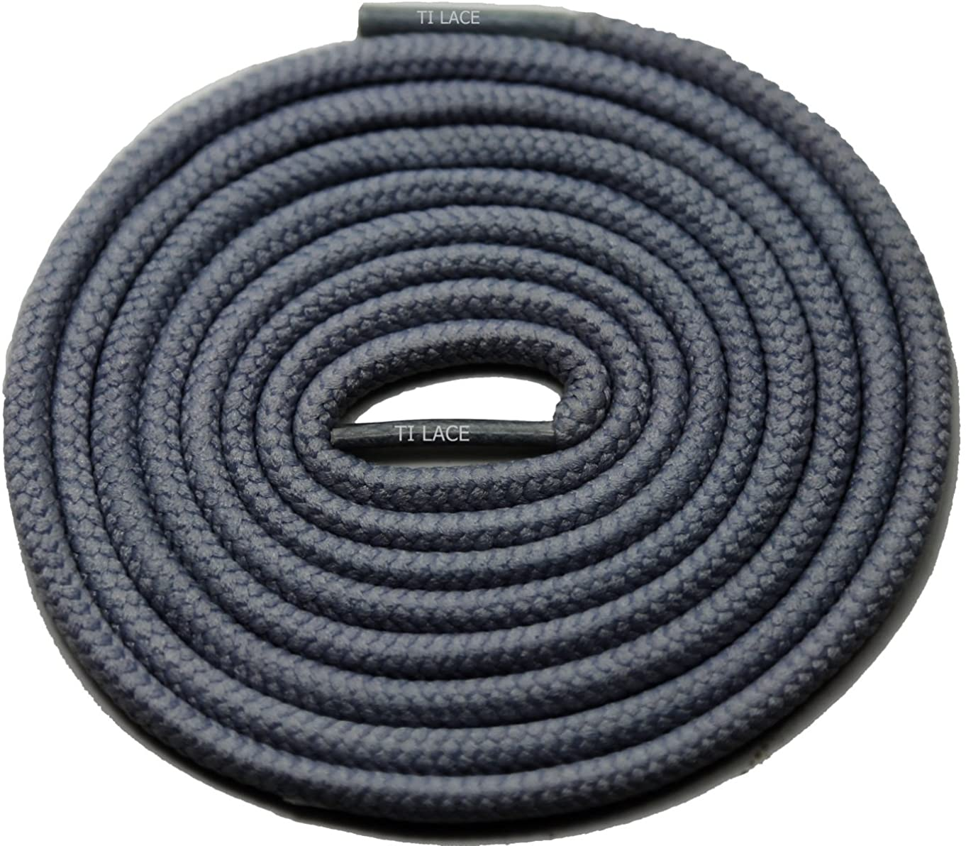 27 Dark Grey 3/16 Round Thick Shoelace For All Soccer Shoes
