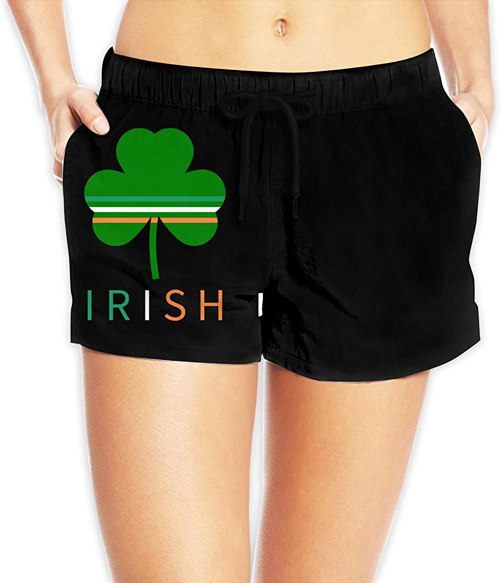 Irish Clover Women's Female Beach Pants Summer Beachwear Board Shorts