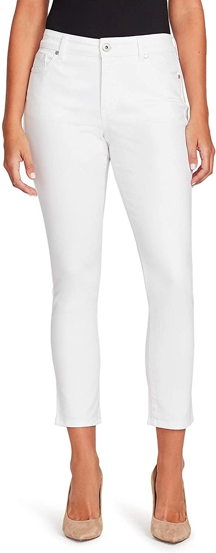 Bandolino Women's Mandie Slim Fit High Rise Crop Jean