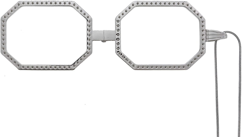 Dianna Locket, Neckglasses Pendant, Reading Glasses, Convenient, Superior Chain, Discreet, Easy Care - 1.5 - Silver