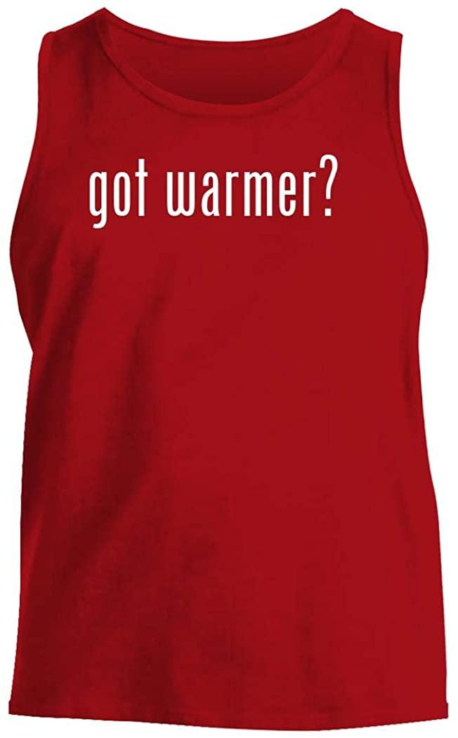 got warmer? - Men's Comfortable Tank Top, Red, X-Large