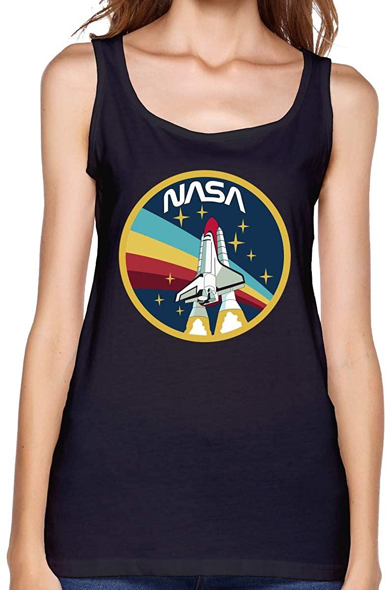 Gjfauehf Women NASA Women's Cotton Sports Vest, Worn Outside Or Inside