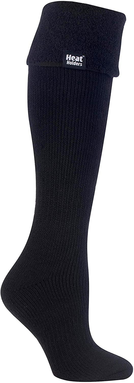 Heat Holders Women's Thermal Wellington Boot Socks 5-9 Black