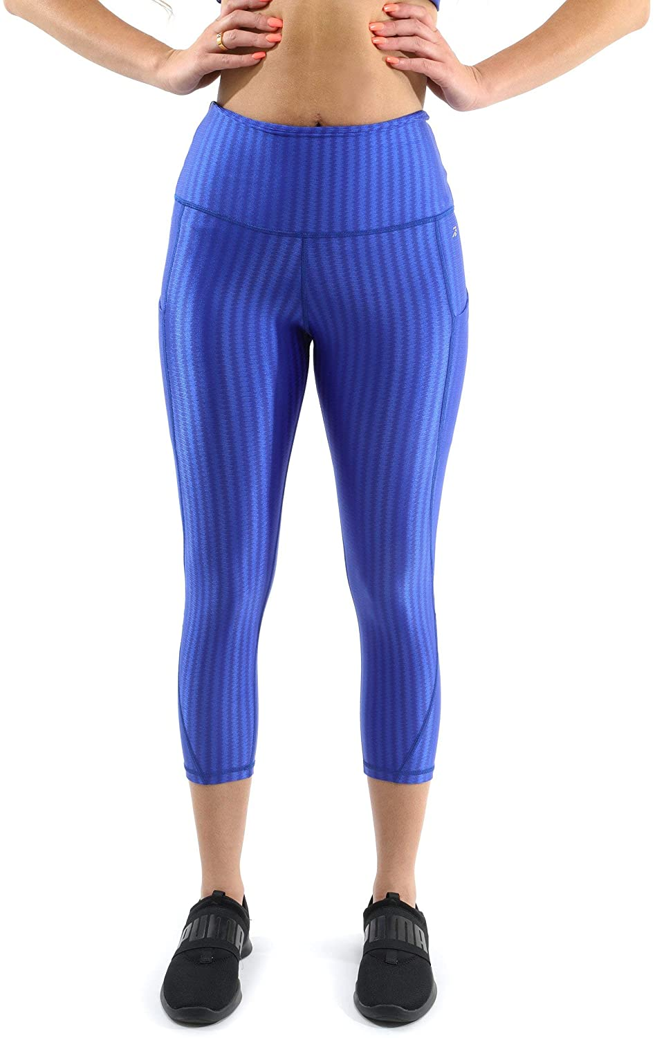Firenze Activewear Leggings - Made in Italy - Blue