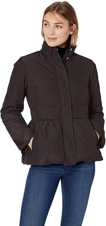 DHgate Brand - Lark & Ro Women's Peplum Puffer Jacket