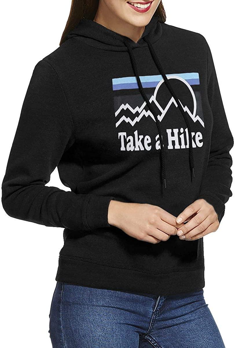 Astorflex Take A Hike Women's Super Soft Casual Pullover Hooded Sweatshirt.