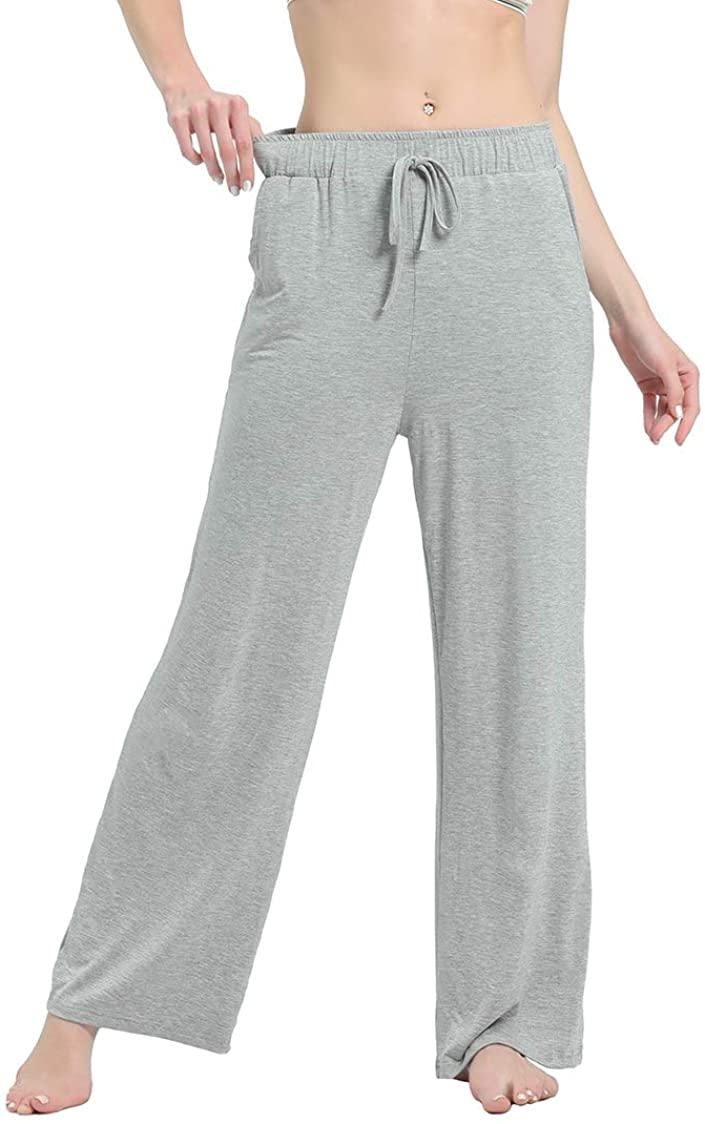 GELIYIYUE Women's Casual Pajama Pants Sleep Pants Soft Modal Lounge Bottoms