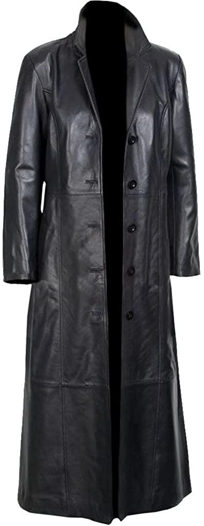 Sheepskin, Women's Long Coat Black Glossy Original Leather, for Sale on DHgate