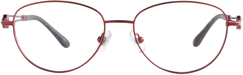 MEDOLONG Women's Blue Light Blocking Shortsighted Glasses with Titanium Frame-JS970