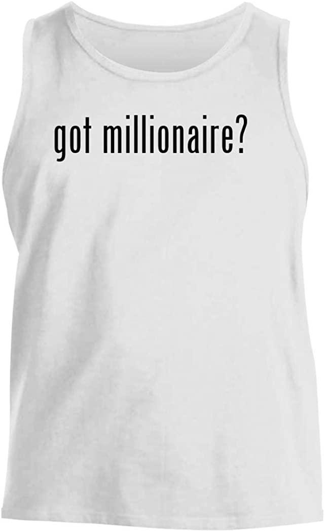 got millionaire? - Men's Comfortable Tank Top, White, Large