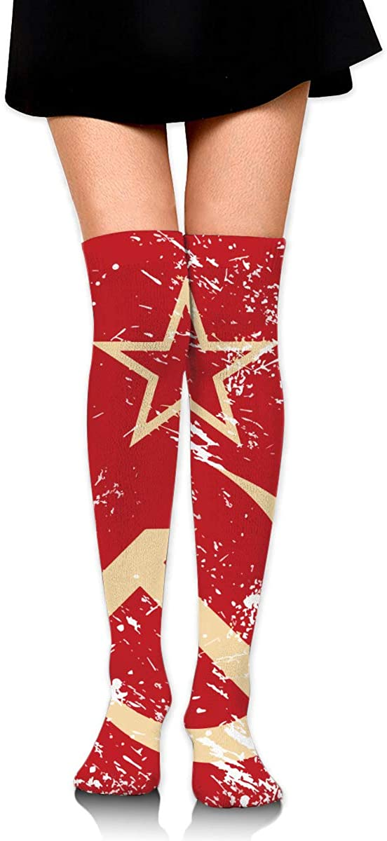 Game Life High Socks Communism Soviet Union Retro Flag Sport Socks Crew Socks