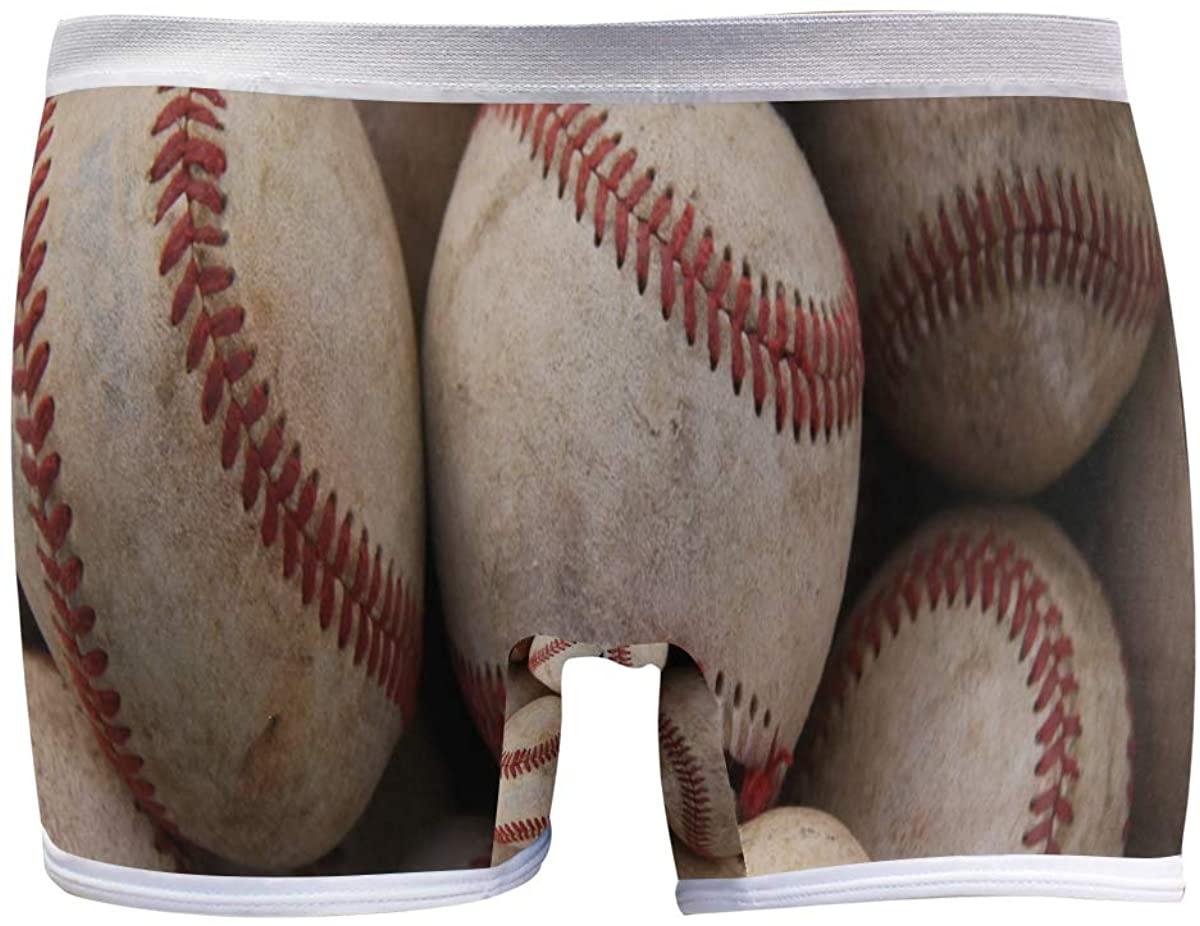 SLHFPX Baseball Sports Womens Seamless Panty Boyshorts Stretch Sexy Underwear Boy Shorts