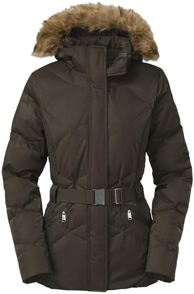 The North Face Womens Metrolina Jacket Black Ink Green Large
