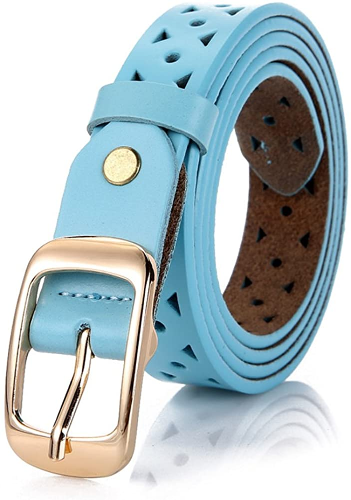 Ladies Distribution Jeans Belt,Stylish Simple Wild Fine Belt Decoration Pants Belt