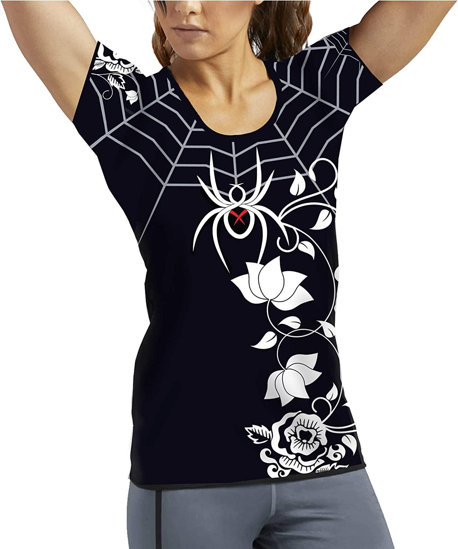 Black Widow Combat Sports Women's Spider Web Rash Guard
