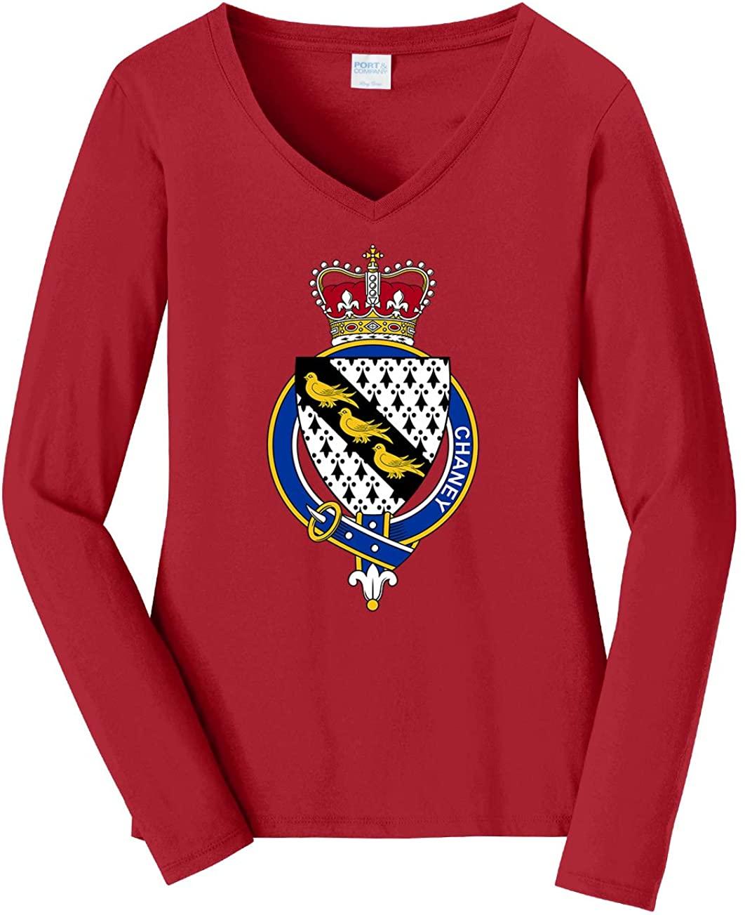 Tenacitee Women's English Garter Family Chaney Long Sleeve T-Shirt
