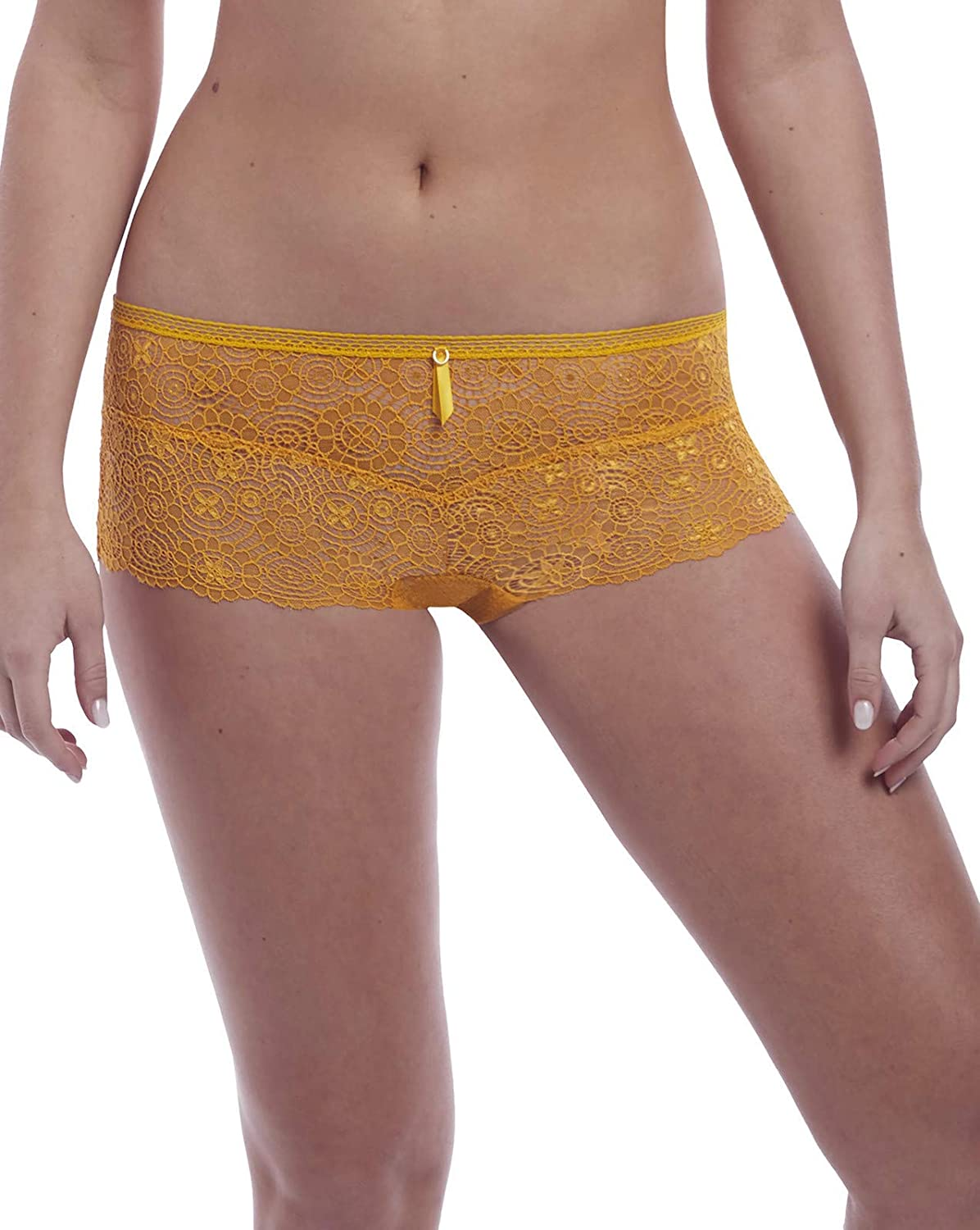 Freya Women's Expression Crochet-Look VPL-Free Lace Boy