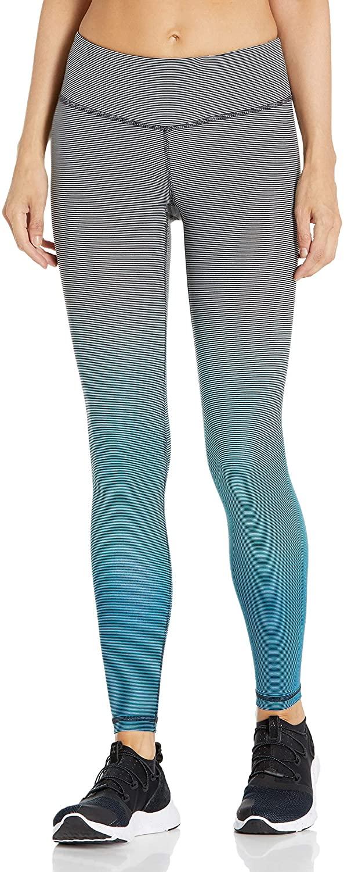 Danskin Women's Dip Dye Stripe Ankle Legging