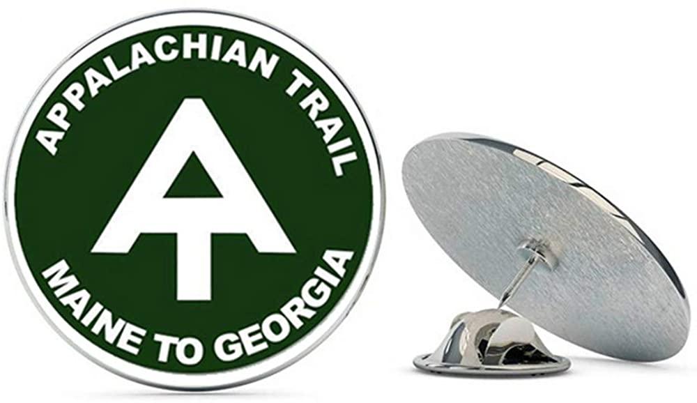 NYC Jewelers Appalachian Trail Maine to Georgia Metal 0.75