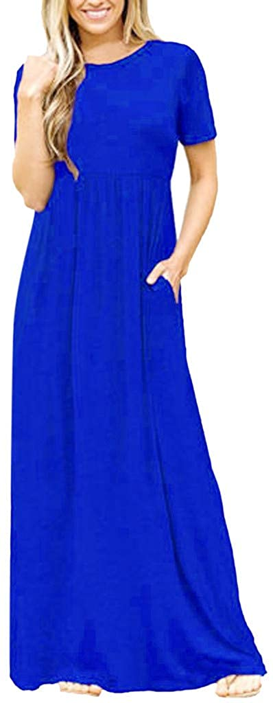 LINKIOM Beauty for Women Loose Long Maxi Dress Casual Plus Size Oversized Party Ball Dresses