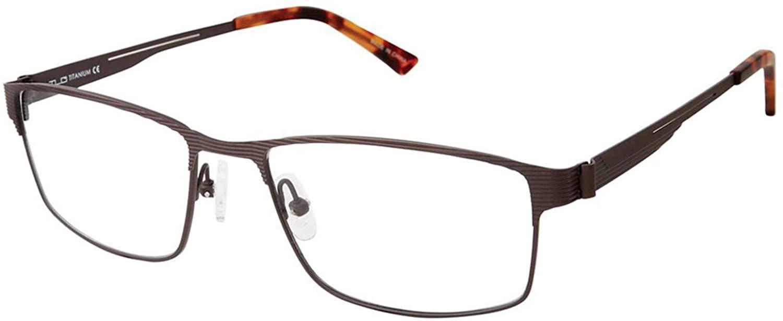 Eyeglasses TLG NU 024 C02 Matte Brown