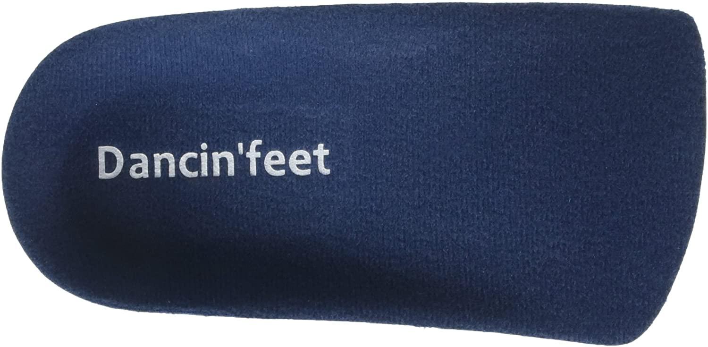 Dancin'feet Flat Feet 3/4 Length Insole Plantar Fasciitis Insoles Orthotic Arch Support Shoe Insert for Men & Women Pronation Treatment – 1 Pair (W (5-6.5) I M (3.5-5))