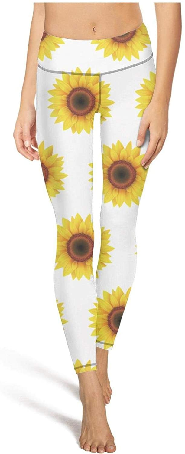 Brindle Dog and Florals1 Leggins high Waisted Yoga Pants Training Dressy Tights Leggings Stretch Fashion Coloured