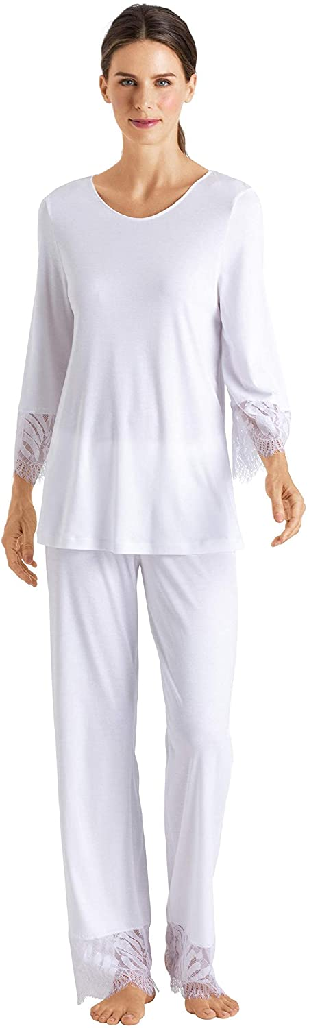 HANRO Women's Makena 3/4 Sleeve Pajama Set