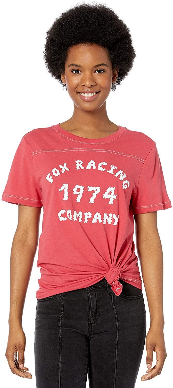 Fox Womens Up in Smoke Short Sleeve Boy Friend T-Shirt