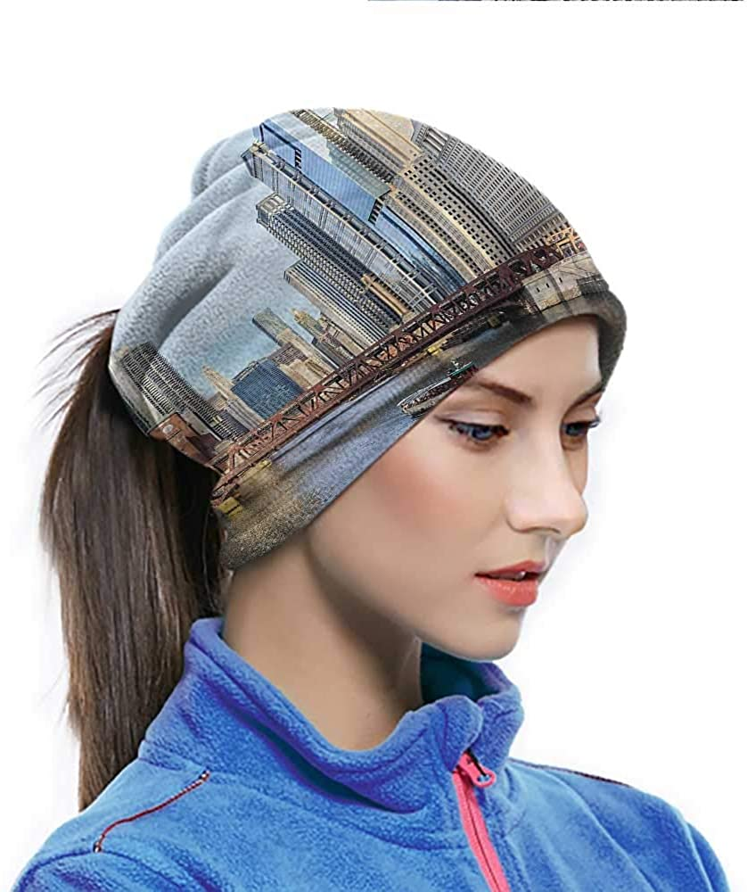 Headwear USA, Mississippi Valley Waterways Windproof Face Cover Protect You From the Elements 10 x 11.6 Inch