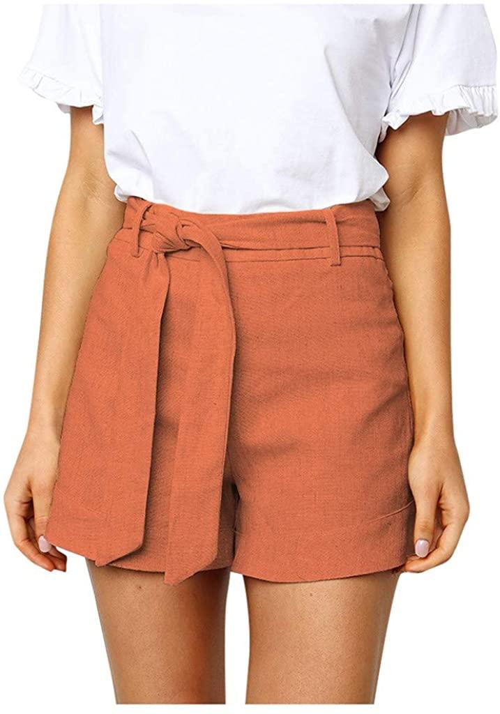 ANOKA Summer Casual Loose Booty Shorts for Women