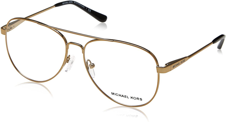 Michael Kors Eyeglasses Procida MK3019 MK/3019 1168 Pale Gold Optical Frame 56mm