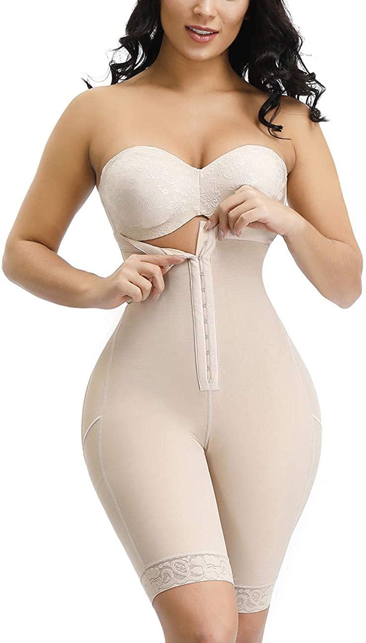YUMDO Women's Butt Lifter Shaper Panties High Waisted Tummy Control Bodyshort Waist Cincher