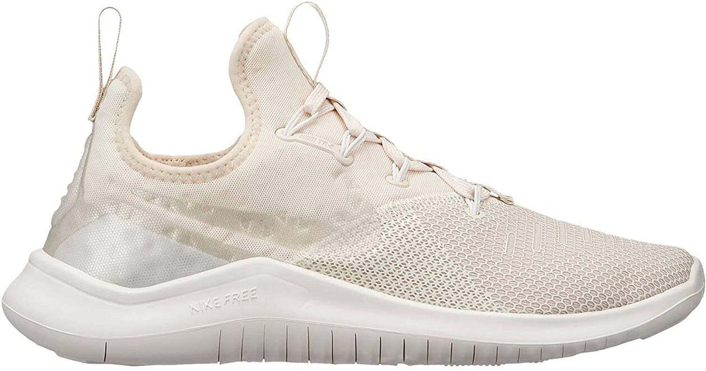 Nike Women's Free Tr 8 Running Shoes (9.5, Light Cream)