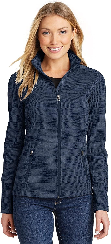 Port Authority Women's Digi Stripe Fleece Jacket