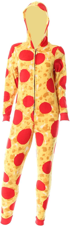 Sweet Treats Women's Pizza Union Suit