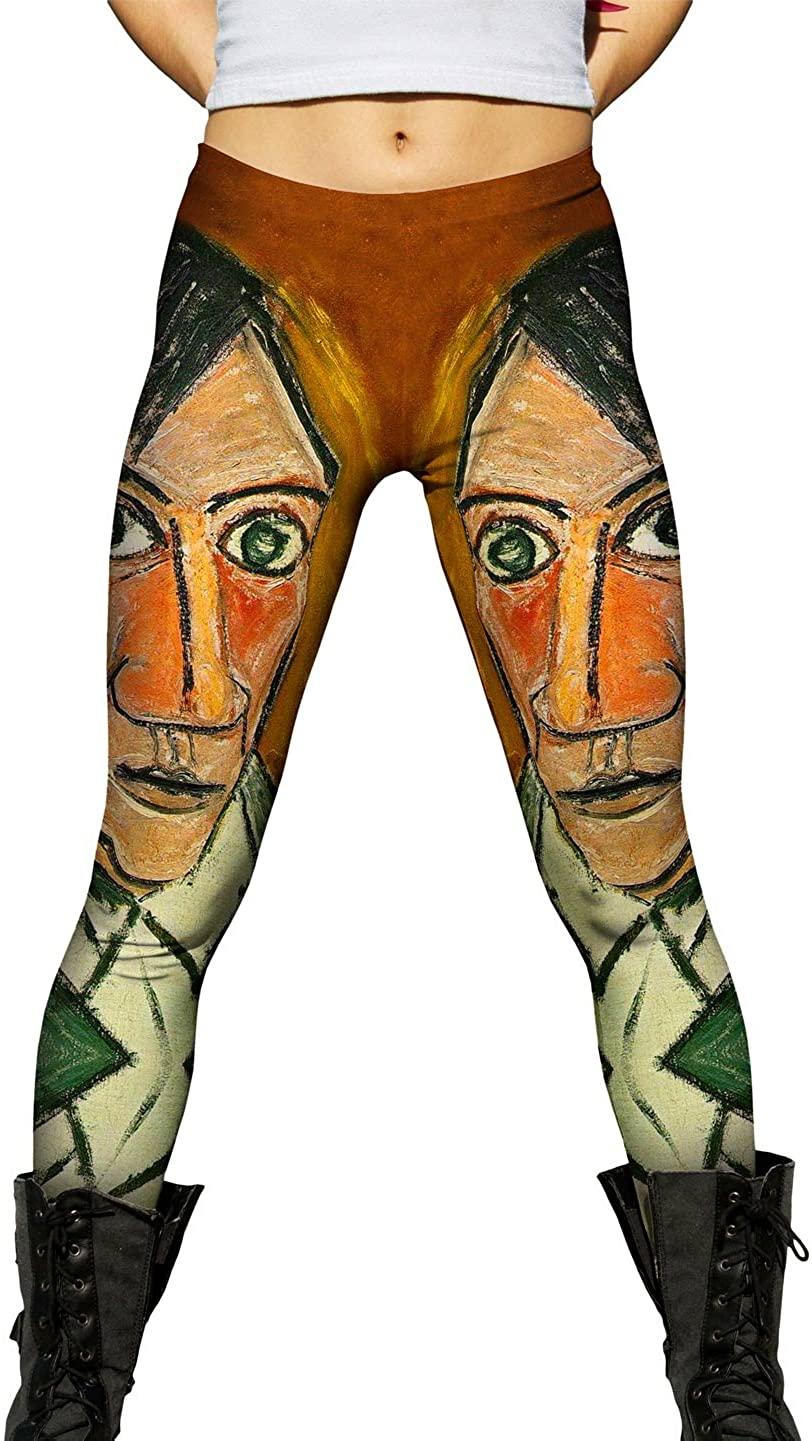 Yizzam- Pablo Picasso - Self Portrait (1907) -New Ladies Womens Leggings