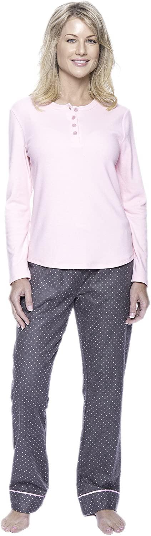 Noble Mount Pajamas for Women - Cotton Flannel Pajama Set