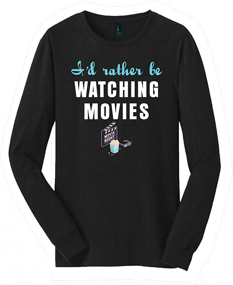 Watching Movies Long Sleeved shirt | Great Watching Movies shirt with a Creative Quote | Cool shirt for Watching Movies