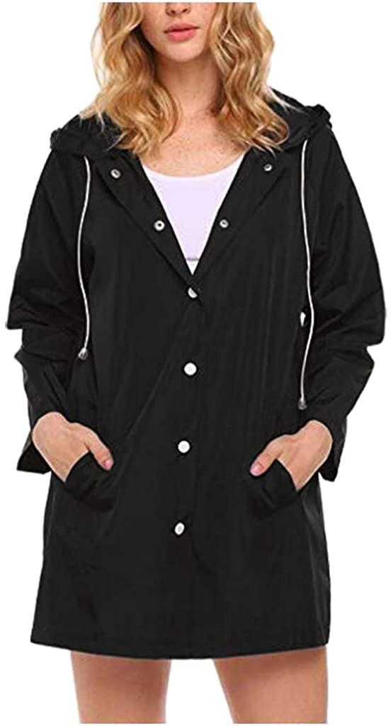 LEKODE Women Sweatshirt Fashion Solid Hoodie Long Sleeve Coat