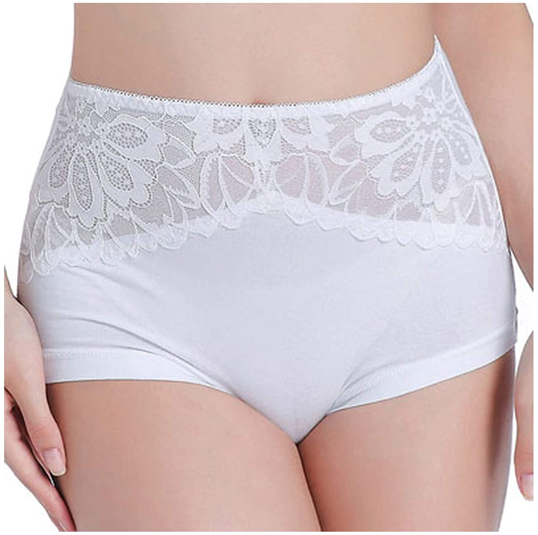 Magic day Women Plus Size Panties High Waist L XL XXL XXXL Cotton Seamless Panties for Women Black White Lingerie