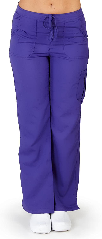Ultrasoft Premium Medical Scrub Pants for Women - Cargo Pocket - Junior FIT