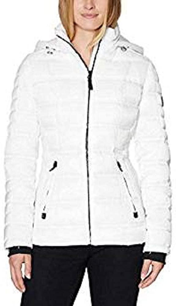 Nautica Ladies' Puffer Jacket (White, Small)