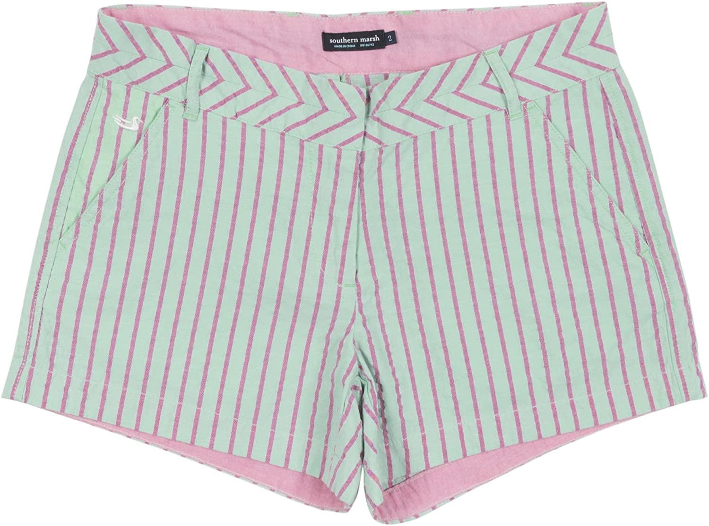 Brighton Short - Turner Stripe, Mint, W00
