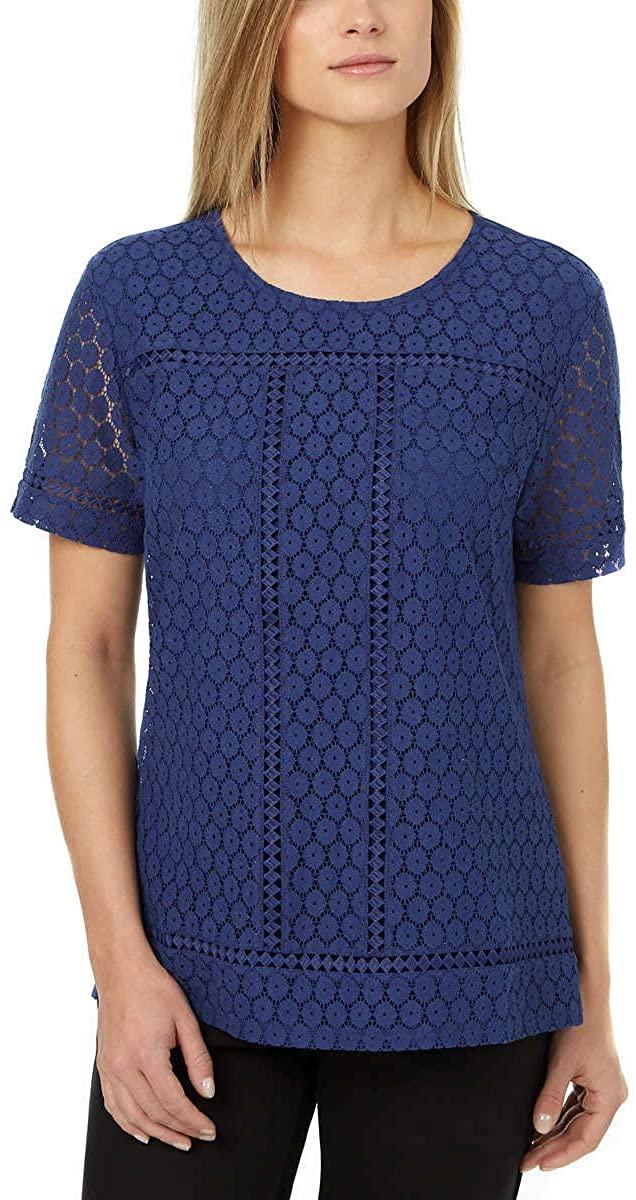 Badgley Mischka Ladies' Lace Top