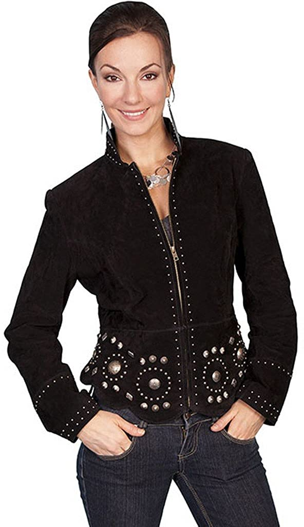 Scully Women's Studded Suede Jacket - L191-19
